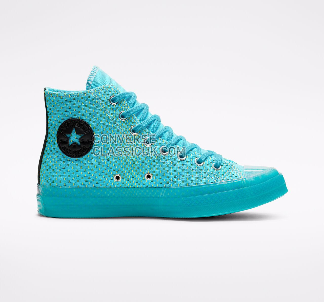 Converse Chuck 70 Neon Wave High Top Mens Womens Unisex 164082C Gnarley Blue/Bold Lime Shoes