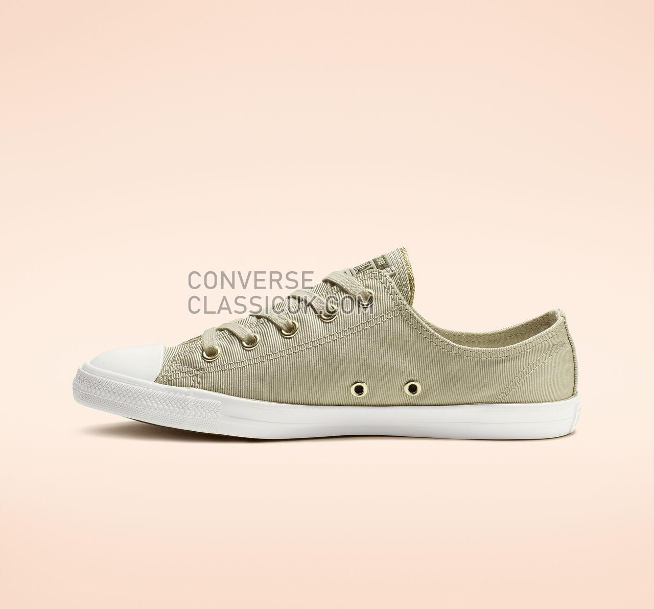Converse Chuck Taylor All Star Dainty Low Top Womens 564307F Light Surplus/Field Surplus Shoes