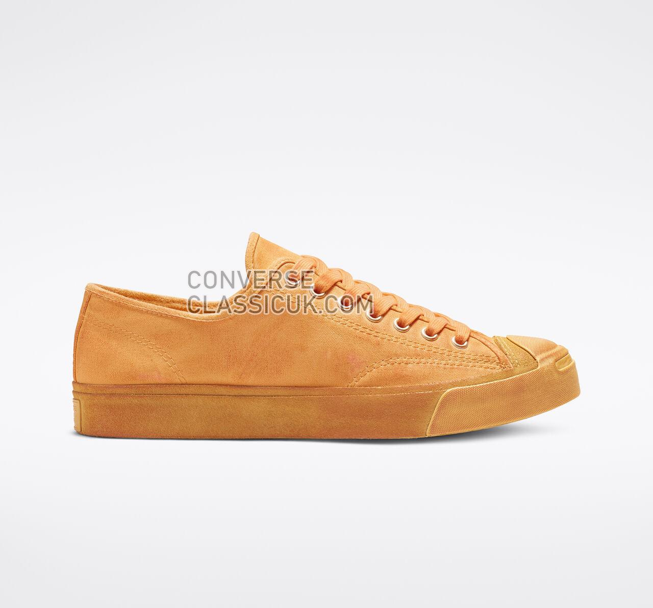 Converse Jack Purcell Burnished Suede Low Top Mens Womens Unisex 164102C Melon Baller/Turf Orange Shoes