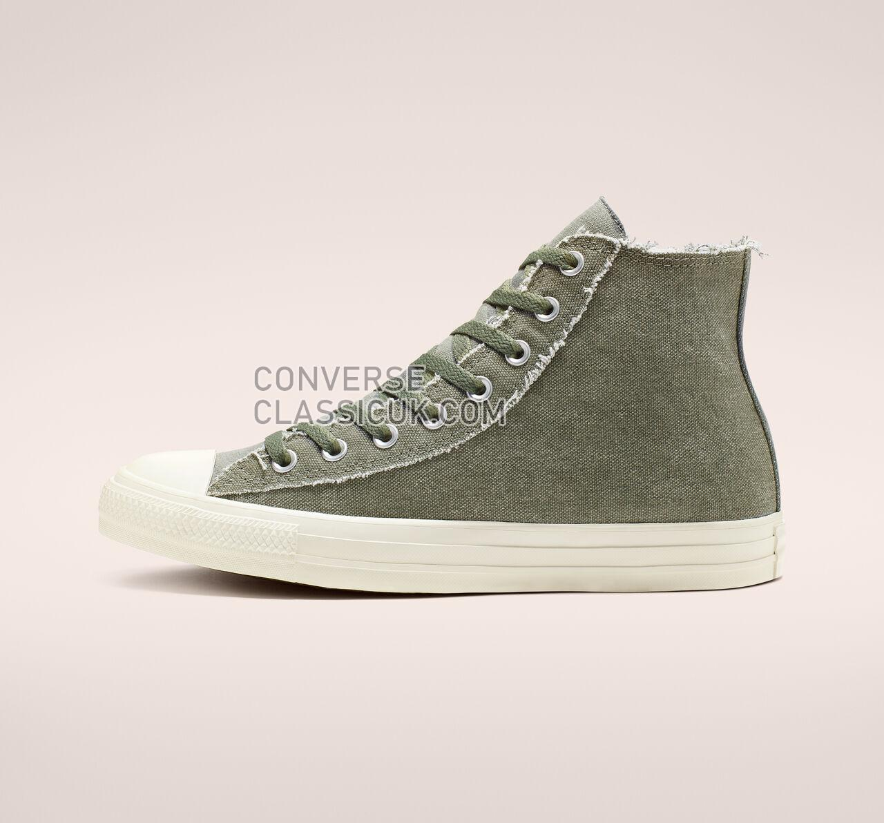 Converse Chuck Taylor All Star Washed Out High Top Mens Womens Unisex 164096F Vintage Lichen/Egret/Egret Shoes
