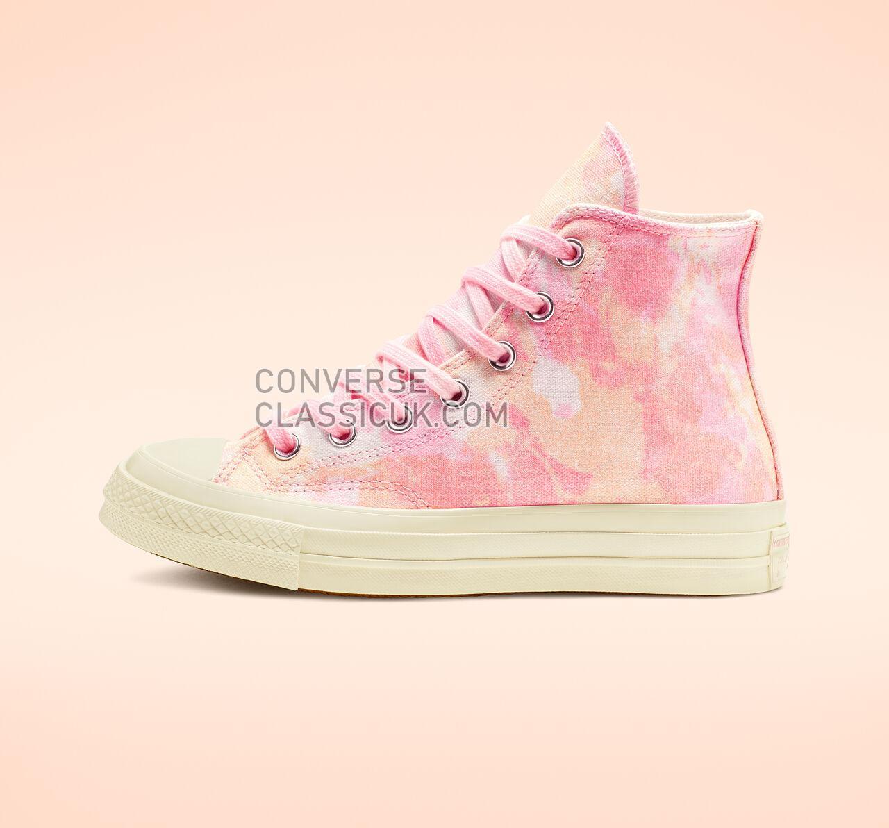 Converse Beach Dye Chuck 70 Womens 564125C 90S Pink/Melon Baller/Egret Shoes