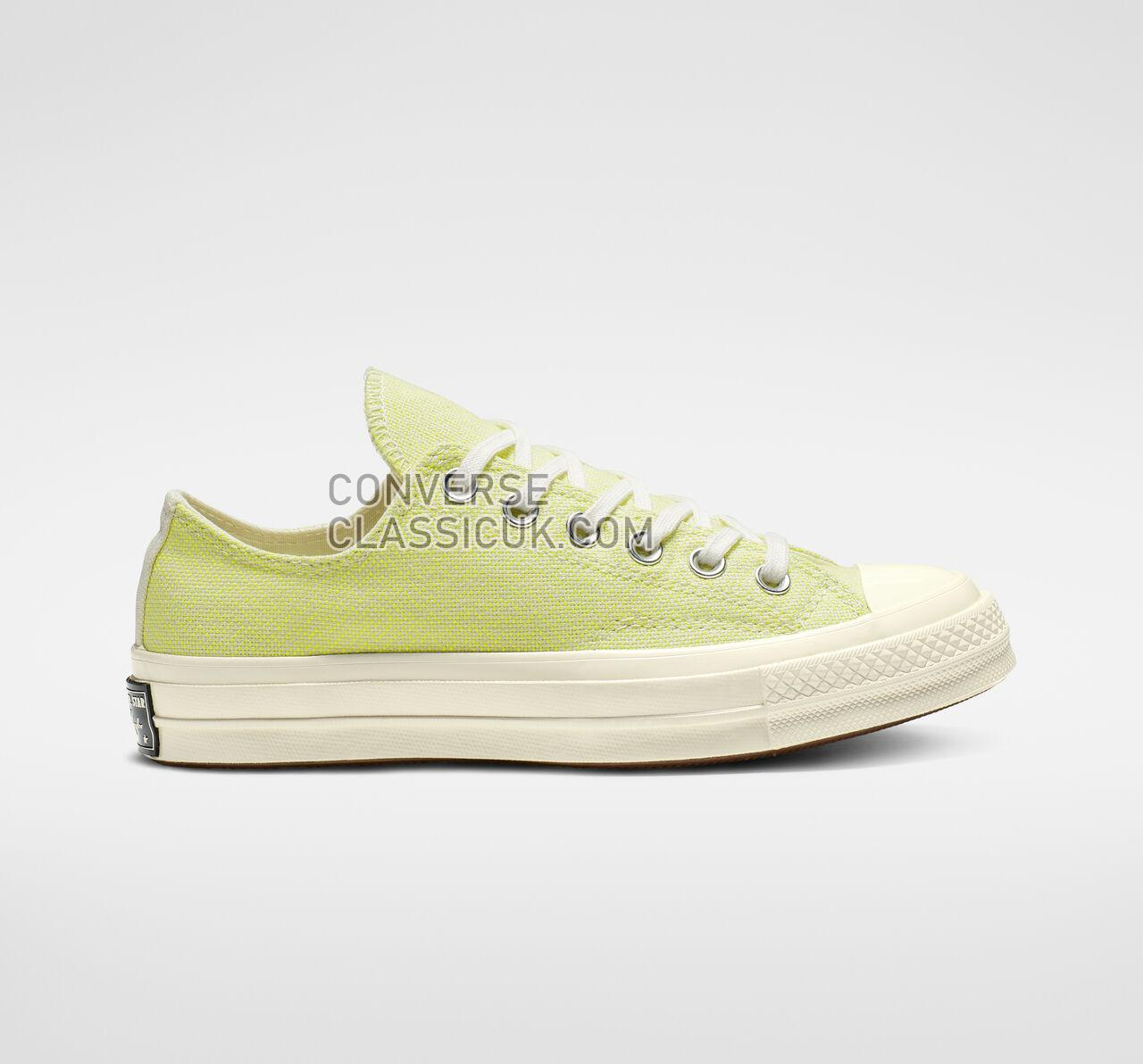 Converse Chuck 70 Carnival Lights Low Top Womens 564131C Egret/Bold Lime/Egret Shoes