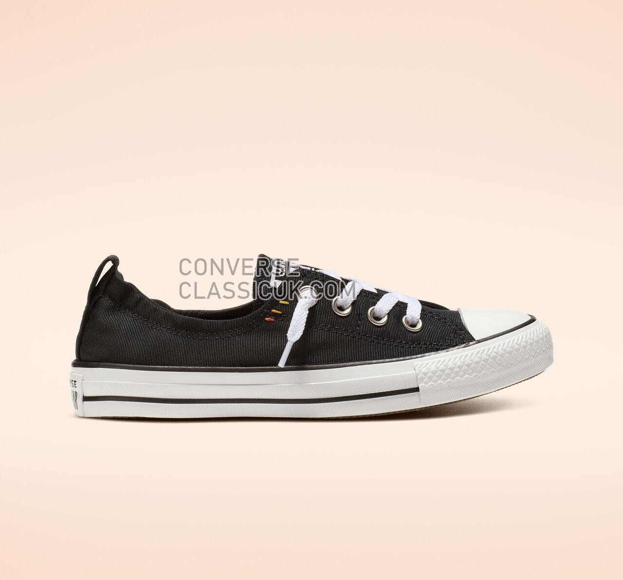 Converse Chuck Taylor All Star Shoreline Slip Womens 565244F Black/White/Black Shoes