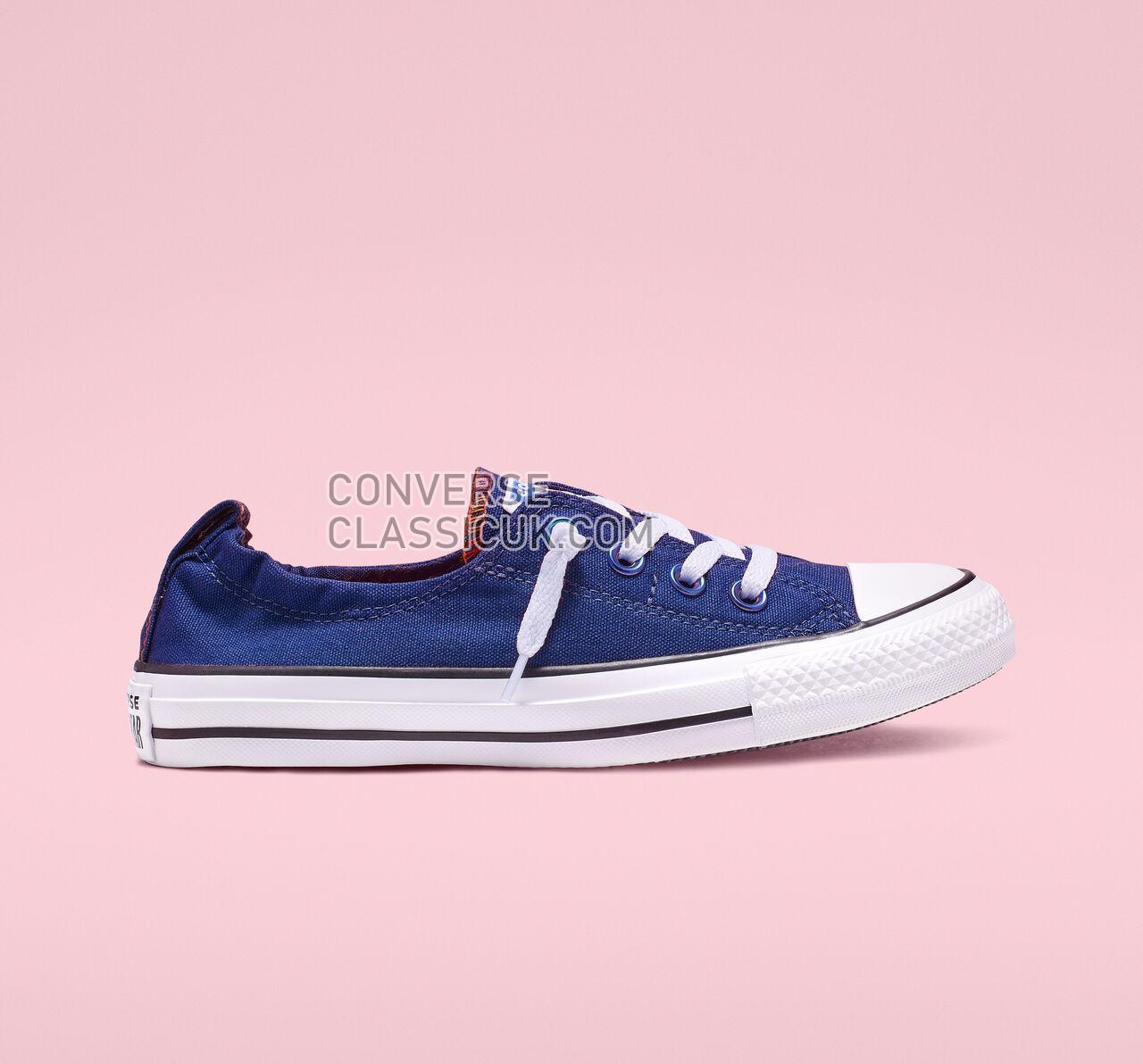 Converse Chuck Taylor All Star Shoreline Slip Womens 565443F Blue/White/Black Shoes