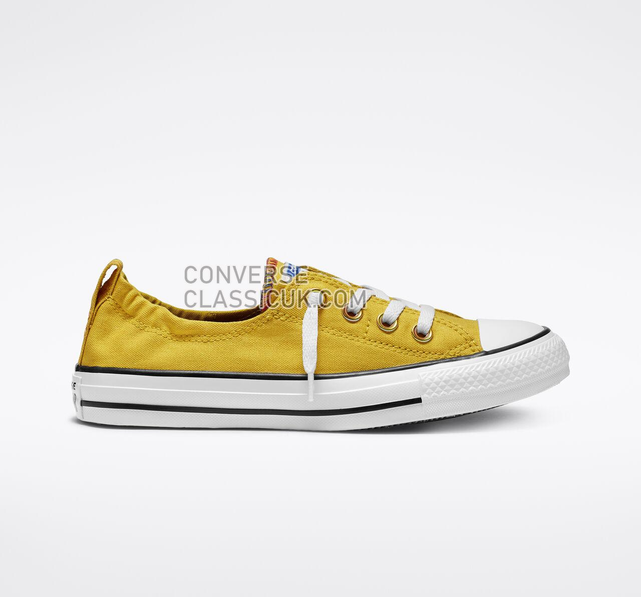 Converse Chuck Taylor All Star Shoreline Slip Womens 565442F Vivid Sulfur/White/Black Shoes