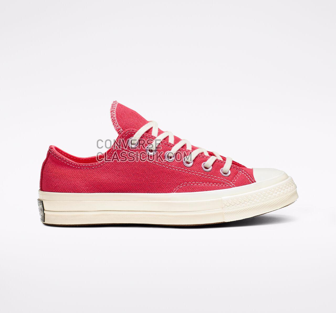 Converse Chuck 70 Carnival Lights Low Top Womens 564130C Racer Pink/Enamel Red/Egret Shoes