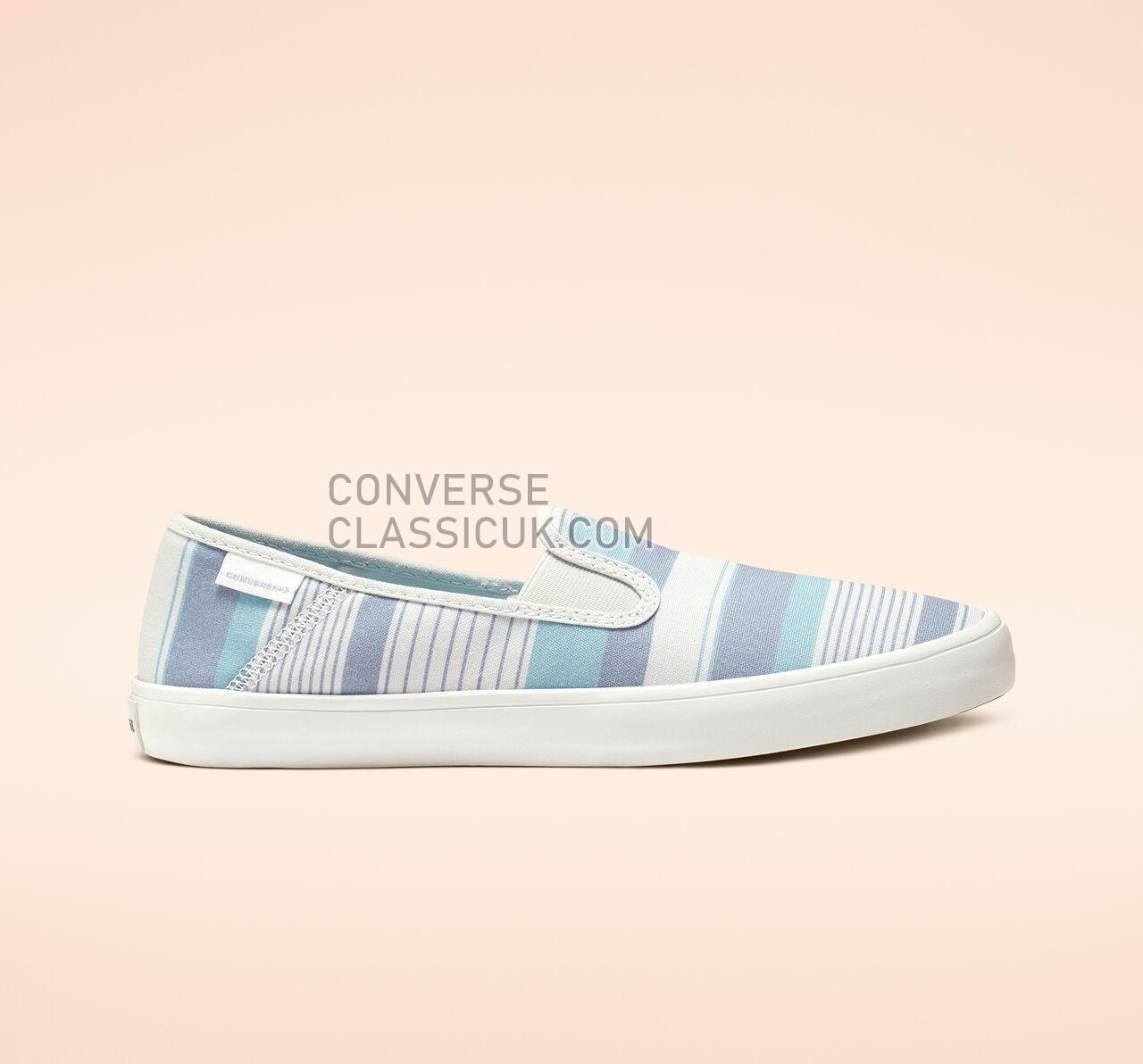 Converse Rio Summer Crush Slip Womens 564330F Pure Platinum/Indigo Fog Shoes