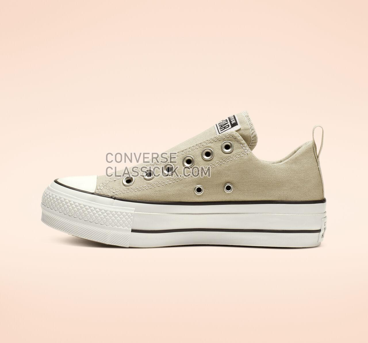 Converse Chuck Taylor All Star Cali Mood Platform Low Top Womens 564340C Light Surplus/White/Black Shoes