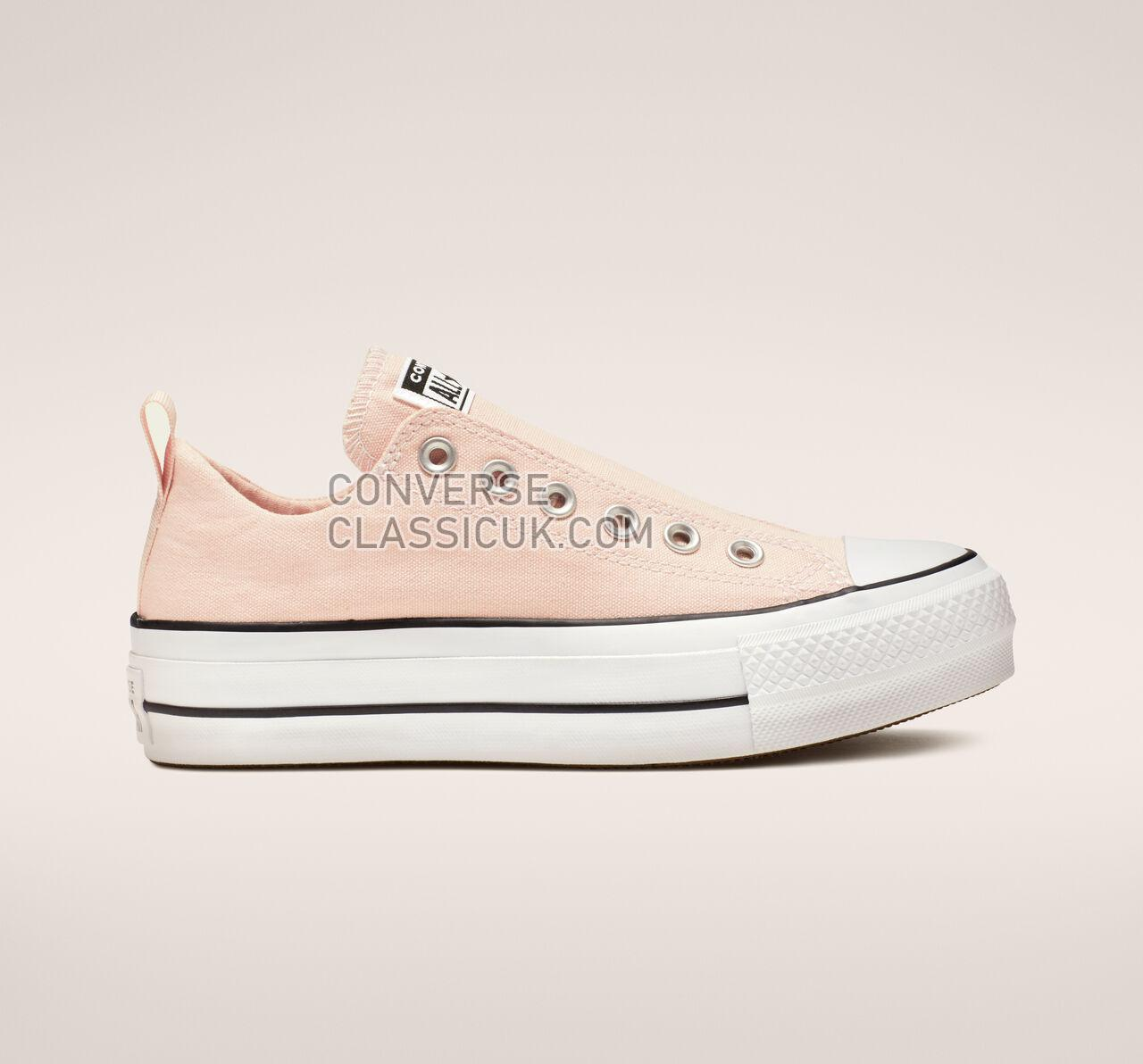 Converse Chuck Taylor All Star Cali Mood Lift Low Top Womens 564341F Washed Coral/White/Black Shoes