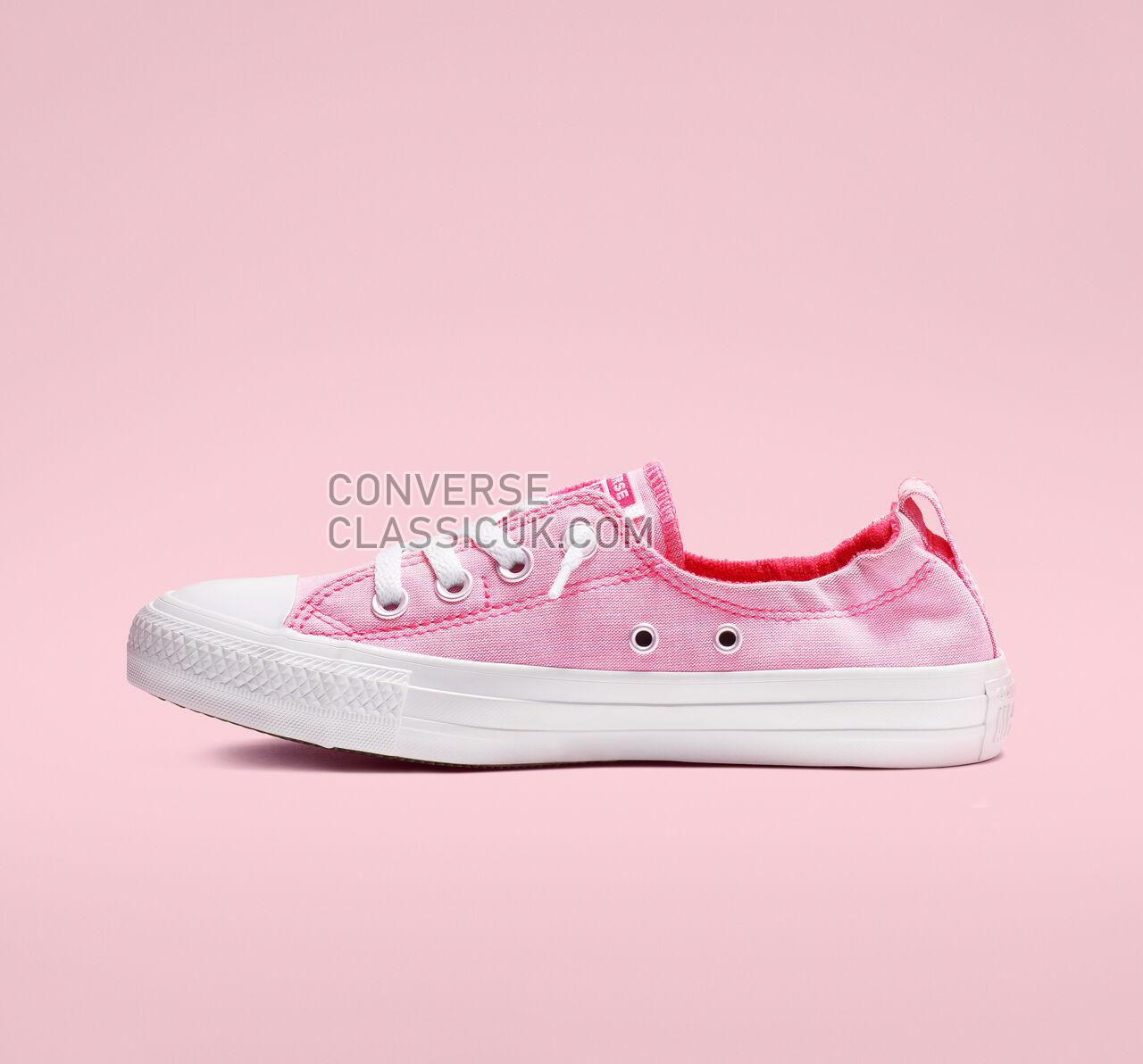 Converse Chuck Taylor All Star Shoreline Slip Womens 564337F Racer Pink/White/White Shoes