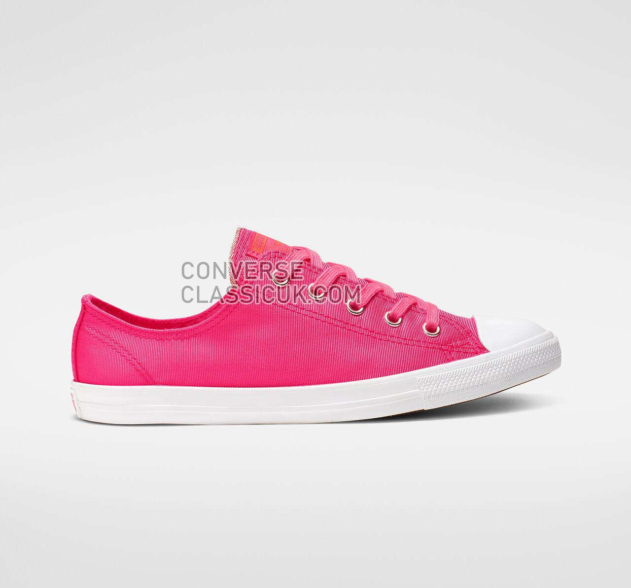 Converse Chuck Taylor All Star Dainty Low Top Womens 564306F Strawberry Jam/Turf Orange Shoes
