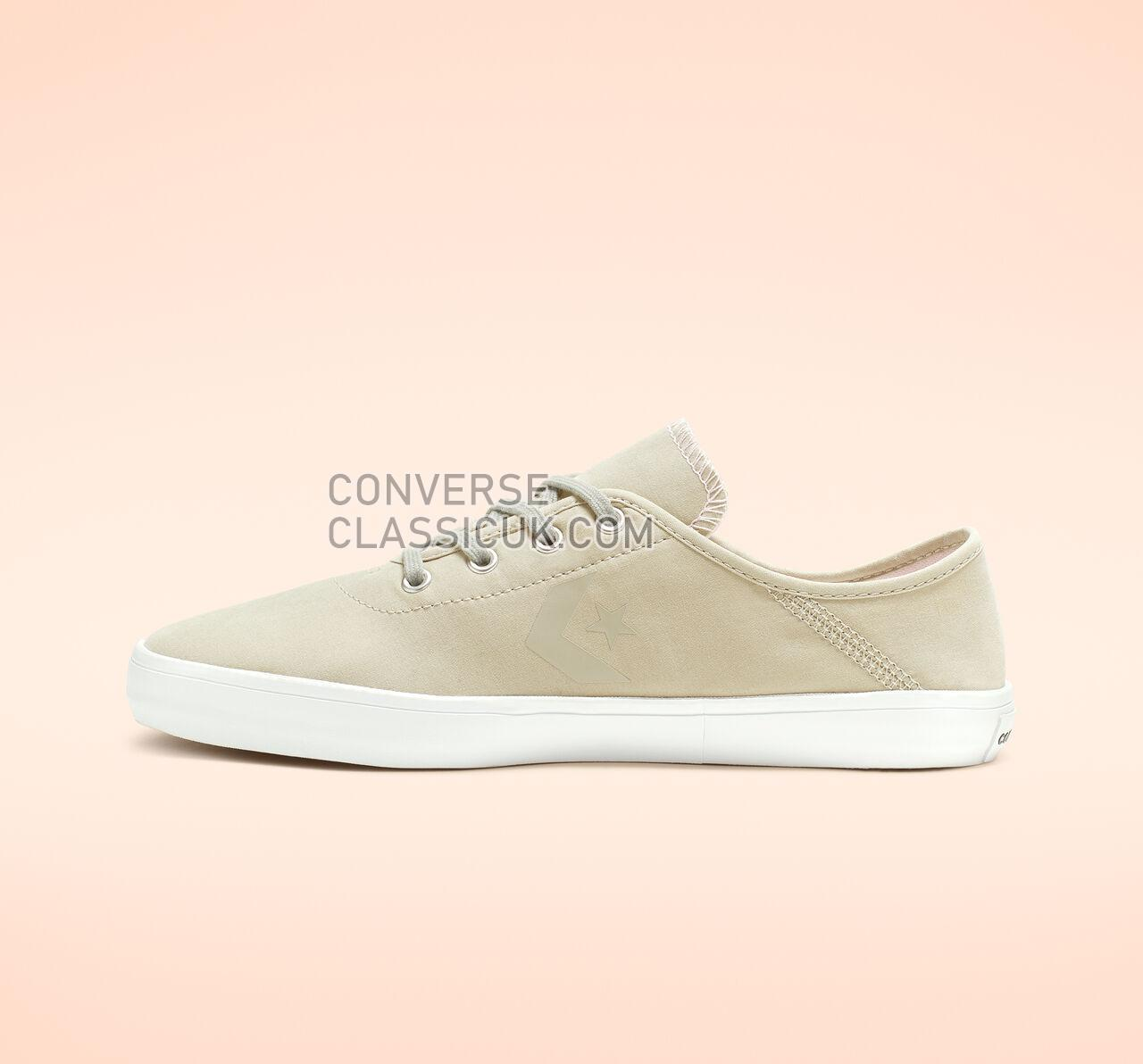 Converse Costa Collapsible Heel Low Top Womens 564320C Light Surplus/Pink Foam/White Shoes
