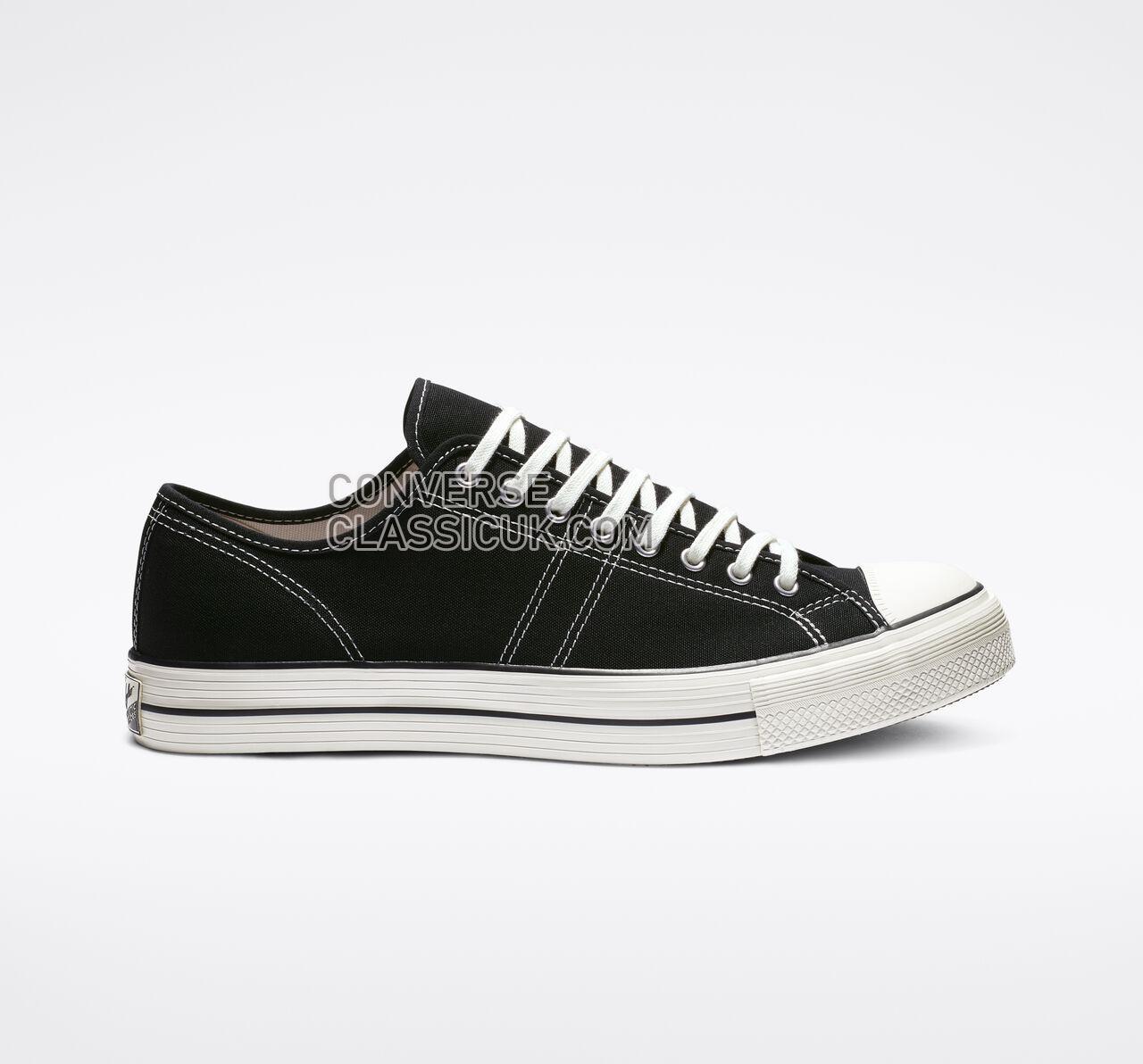 Converse Lucky Star Low Top Mens Womens Unisex 163159C Black/Black/Egret Shoes