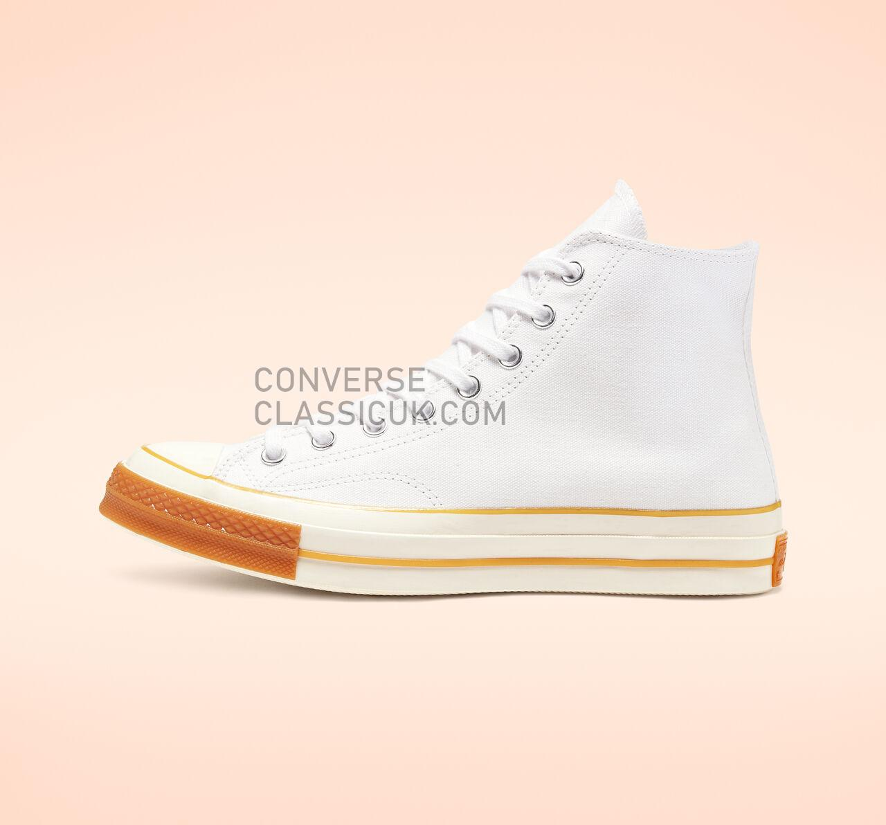 Converse Chuck 70 Pop Toe High Top Mens Womens Unisex 165720C White/Egret/Gum Shoes