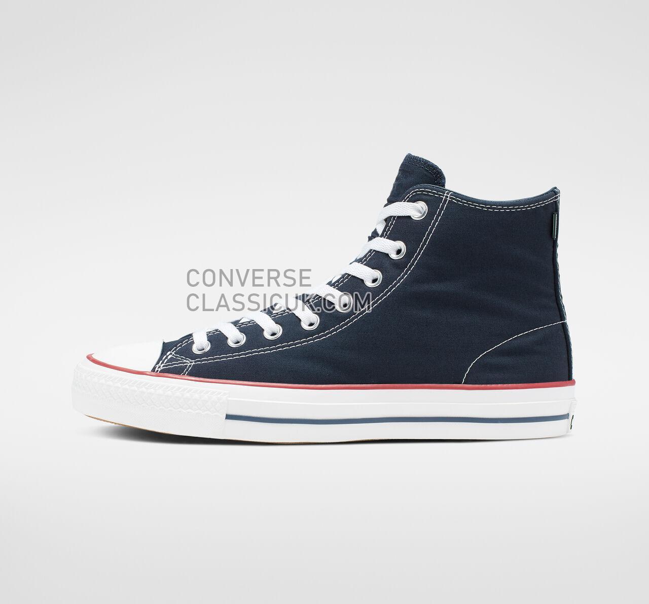 Converse CTAS Pro Archive Prints High Top Mens Womens Unisex 165338C Obsidian/White/Enamel Red Shoes