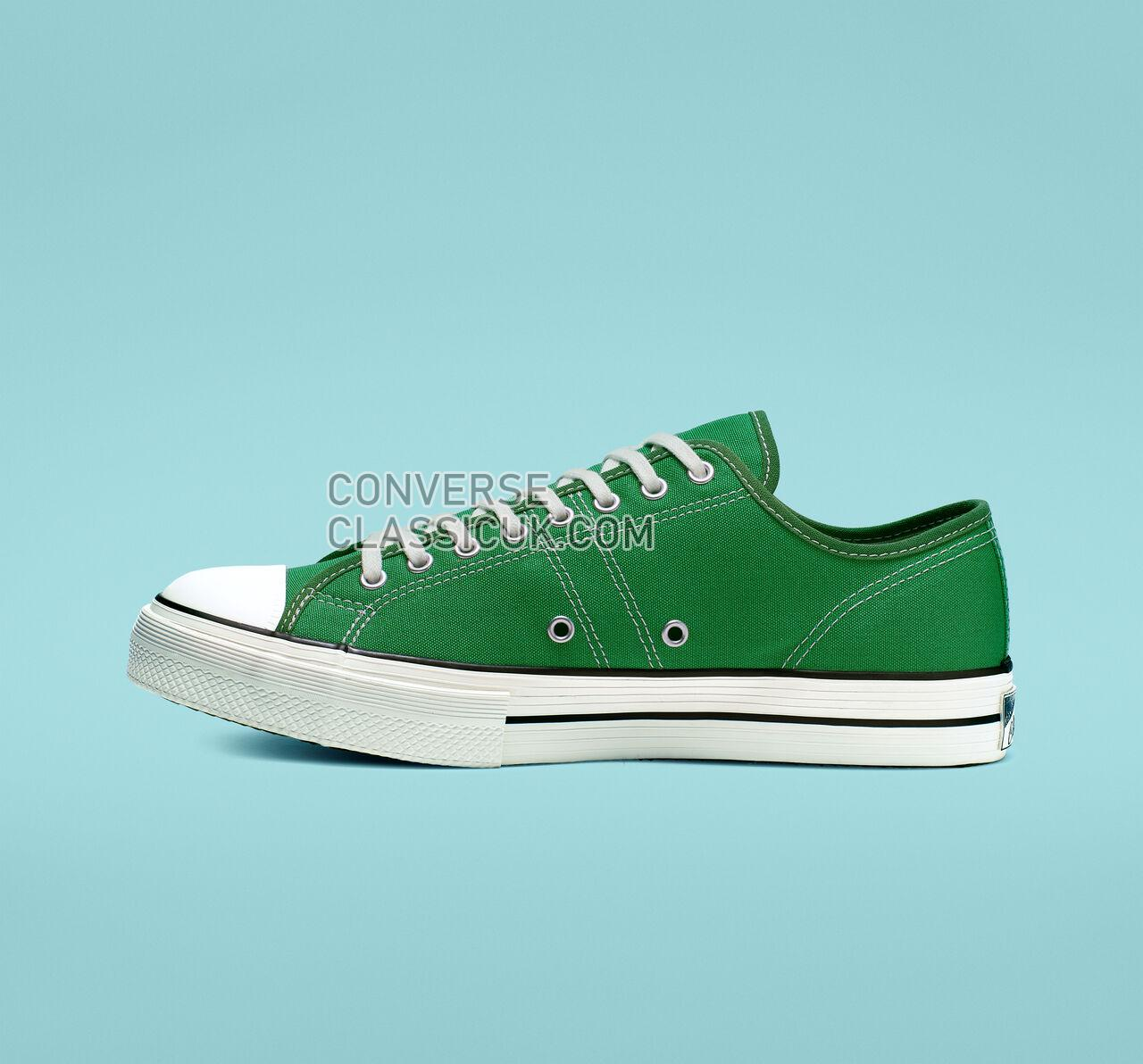 Converse Lucky Star Low Top Mens Womens Unisex 164216C Green/Black/Gum Honey Shoes