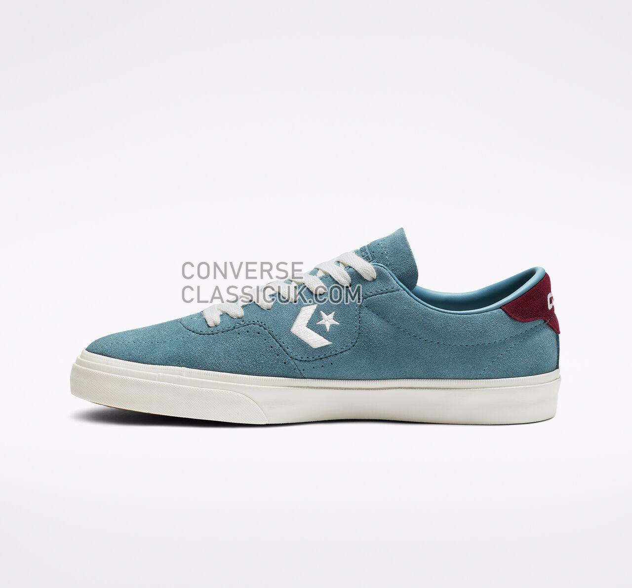 Converse CONS Louie Lopez Pro Mens Womens Unisex 164165C Celestial Teal/Dark Burgundy Shoes