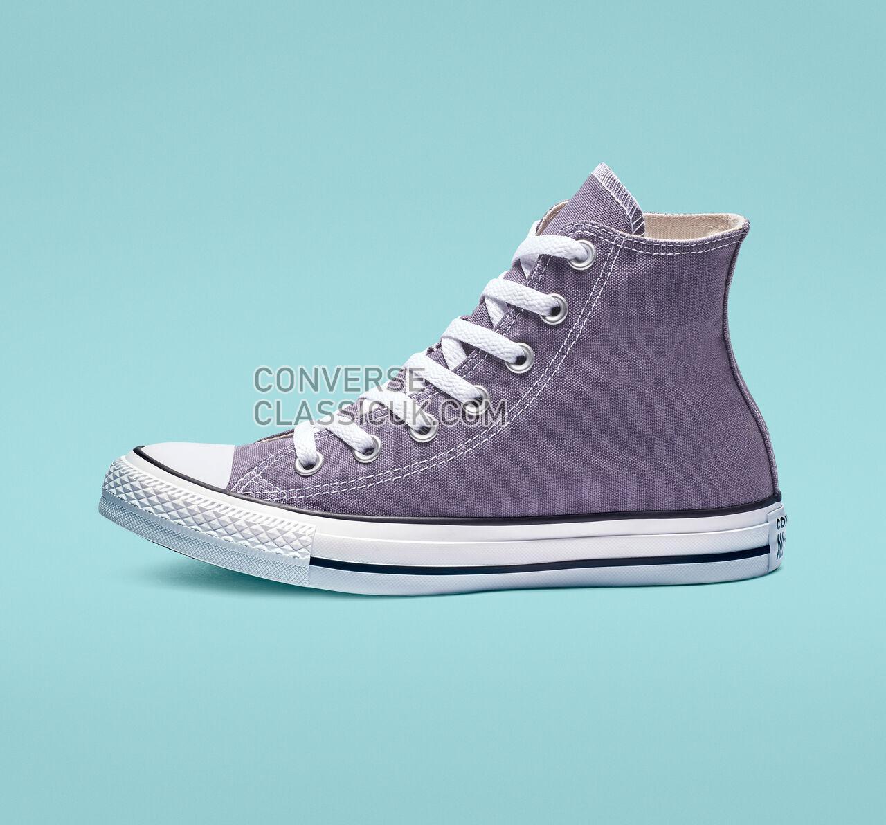 Converse Chuck Taylor All Star Seasonal Colors High Top Mens Womens Unisex 163352F Moody Purple Shoes