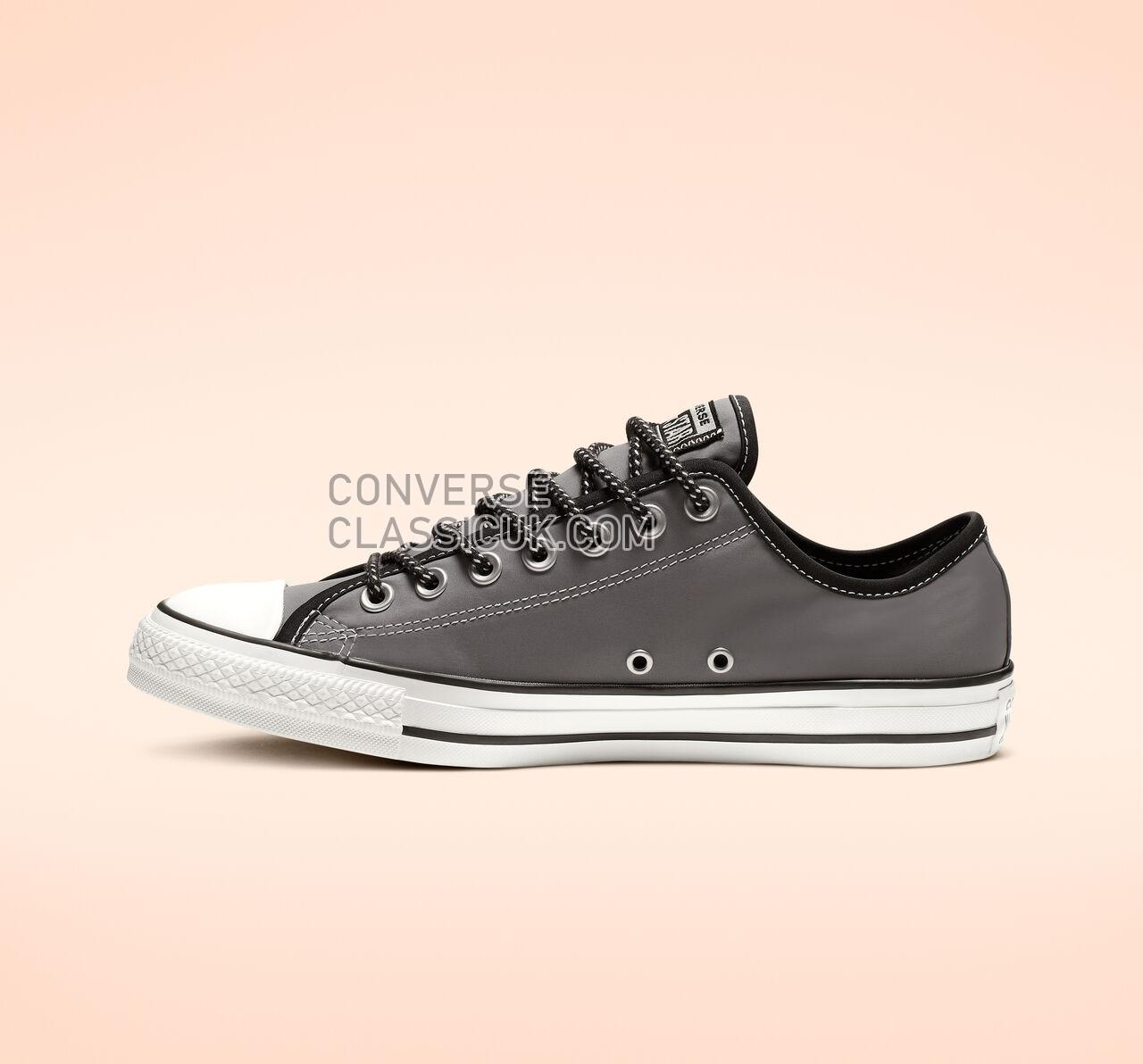 Converse Chuck Taylor All Star Get Tubed Low Top Mens Womens Unisex 164095F Cool Grey/Black/White Shoes