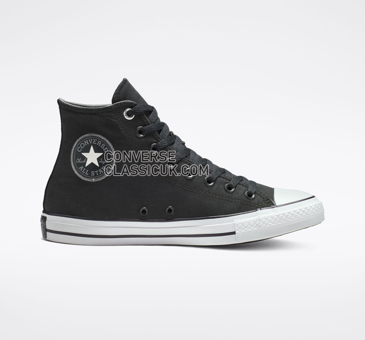 Converse Chuck Taylor All Star Space Explorer High Top Mens Womens Unisex 164880F Black/Black/White Shoes