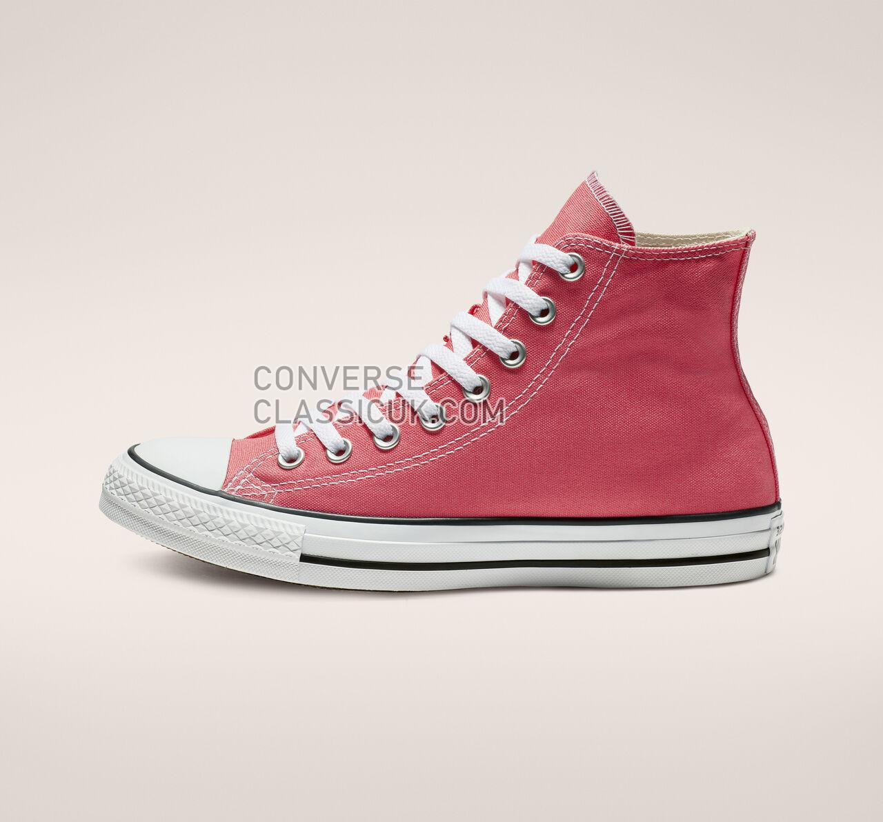 Converse Chuck Taylor All Star Seasonal Color High Top Mens Womens Unisex 161417F Punch Coral Shoes