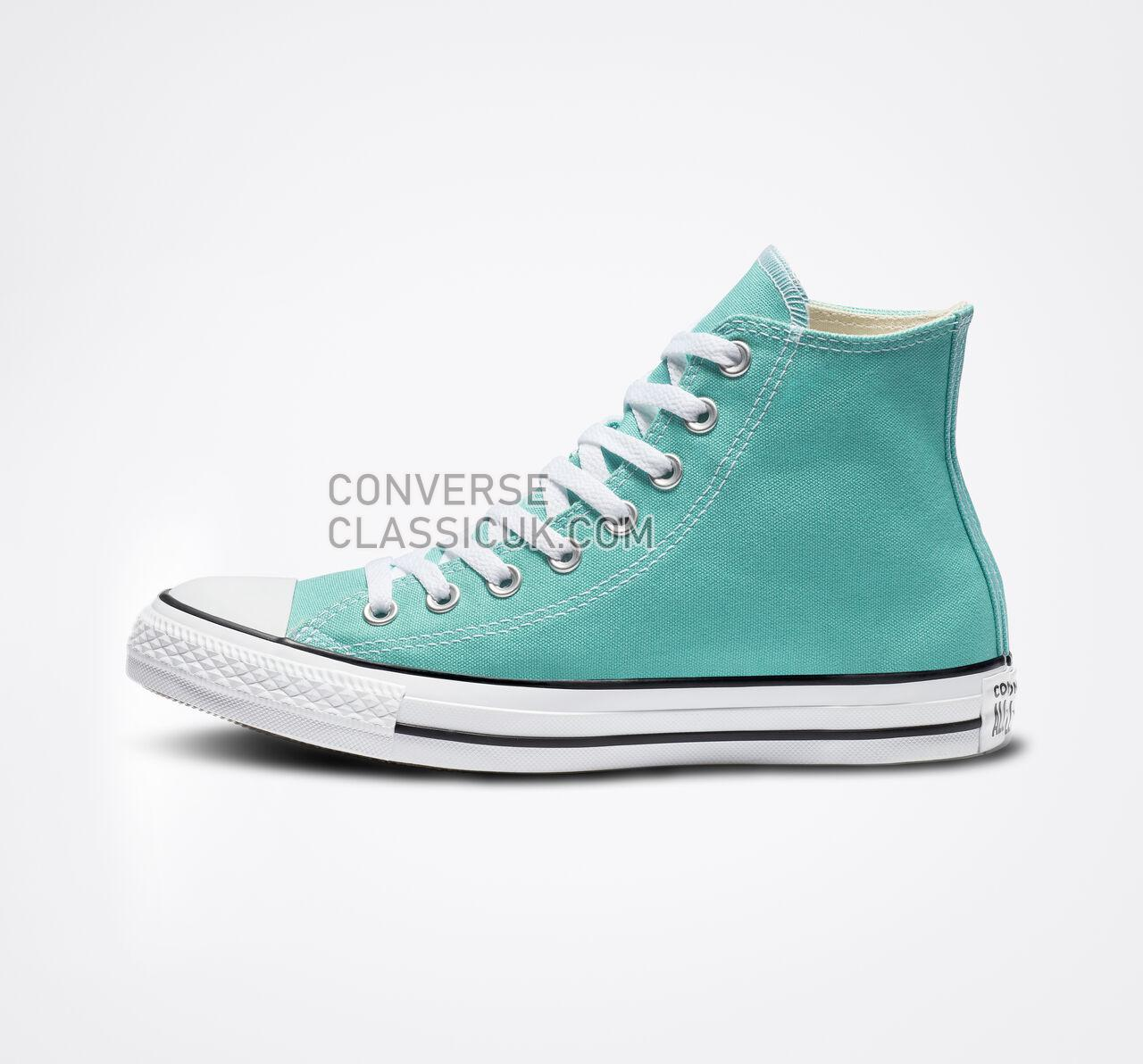 Converse Chuck Taylor All Star Seasonal Color High Top Mens Womens Unisex 161416F Pure Teal Shoes