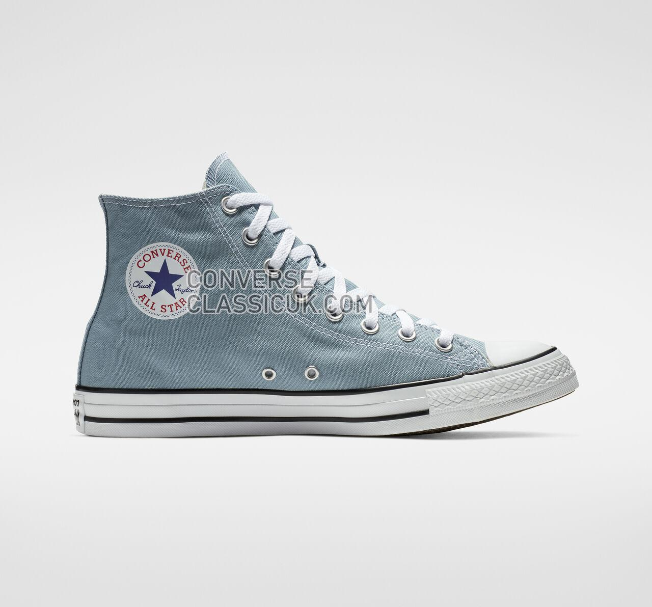 Converse Chuck Taylor All Star Seasonal Color High Top Mens Womens Unisex 162114F Washed Denim Shoes