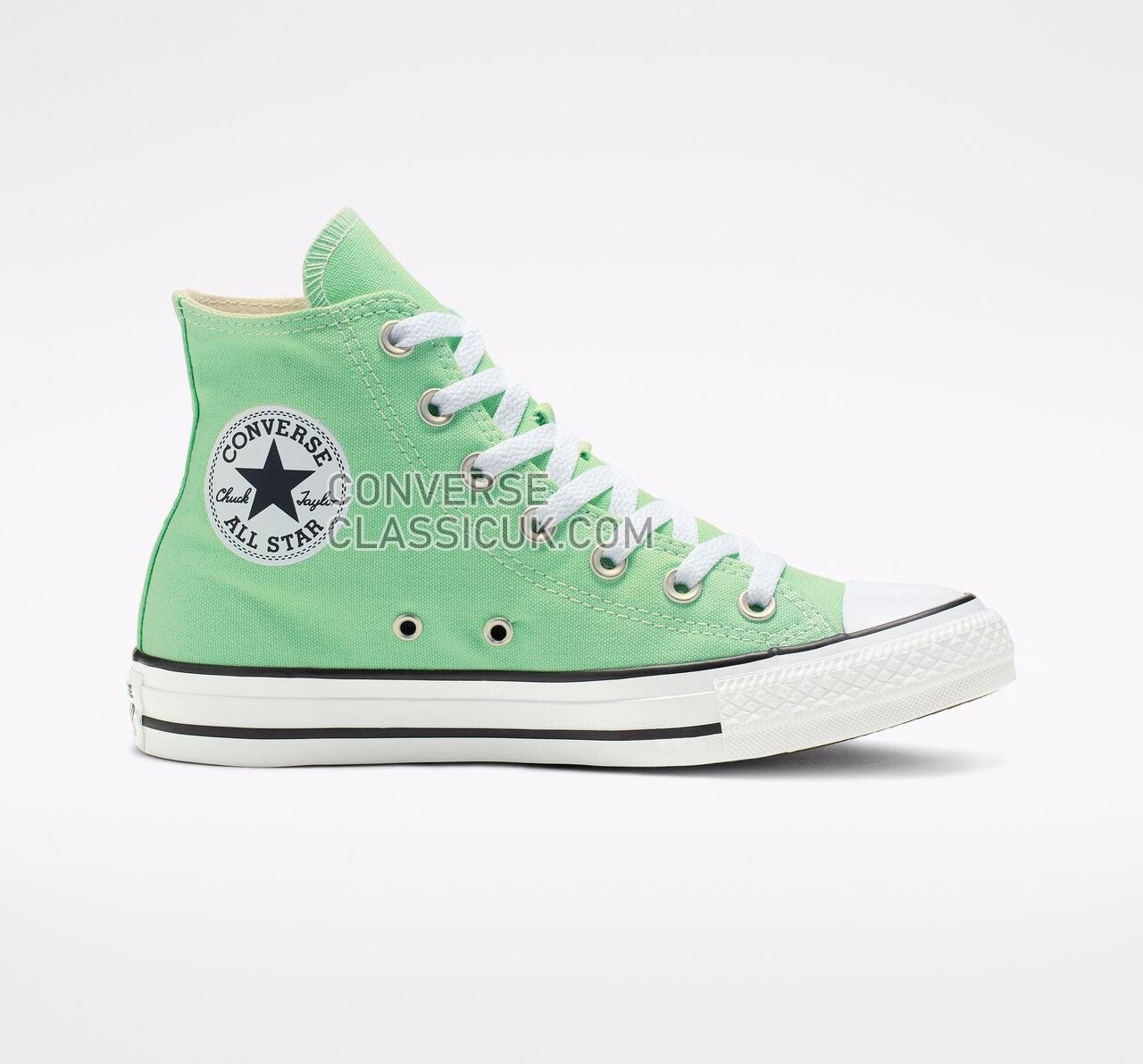 Converse Chuck Taylor All Star Seasonal Color High Top Mens Womens Unisex 164396F Aphid Green Shoes
