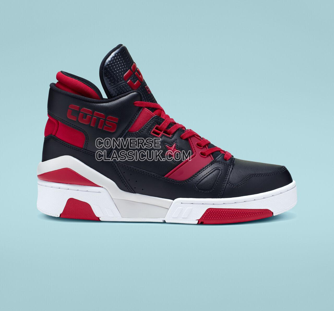 Converse ERX 260 Mid Mens Womens Unisex 163852C Black/Enamel Red/White Shoes