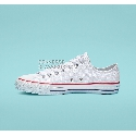 Converse CTAS Pro Low Top Mens Womens Unisex 159699C White/Red/Insignia Blue Shoes